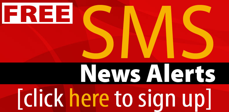 FREE SMS news alerts to your mobile phone.